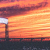 Citi Field Sunset Canvas Print - The 7 Line - For Mets fans, by Mets fans. An independently owned clothing/lifestyle brand supporting the Mets players and their fans.