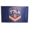 T7LA flag (ROYAL) - The 7 Line - For Mets fans, by Mets fans. An independently owned clothing/lifestyle brand supporting the Mets players and their fans.