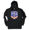 T7LA Hoodie - (Black) - The 7 Line - For Mets fans, by Mets fans. An independently owned clothing/lifestyle brand supporting the Mets players and their fans.