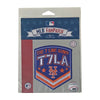T7LA BADGE EMBROIDERED PATCH - The 7 Line - For Mets fans, by Mets fans. An independently owned clothing/lifestyle brand supporting the Mets players and their fans.