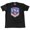 T7LA t-shirt (Black) - The 7 Line - For Mets fans, by Mets fans. An independently owned clothing/lifestyle brand supporting the Mets players and their fans.