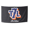 T7L LOGO (black) flag