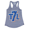T7L LOGO Ladies Tank Top (Grey)