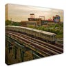 The 7 Train Canvas Print - The 7 Line - For Mets fans, by Mets fans. An independently owned clothing/lifestyle brand supporting the Mets players and their fans.