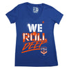 We Roll Deep T7LA (ladies v-neck)
