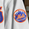 "New York Mets ""Roosevelt"" jacket (White) - The 7 Line - For Mets fans, by Mets fans. An independently owned clothing/lifestyle brand supporting the Mets players and their fans."