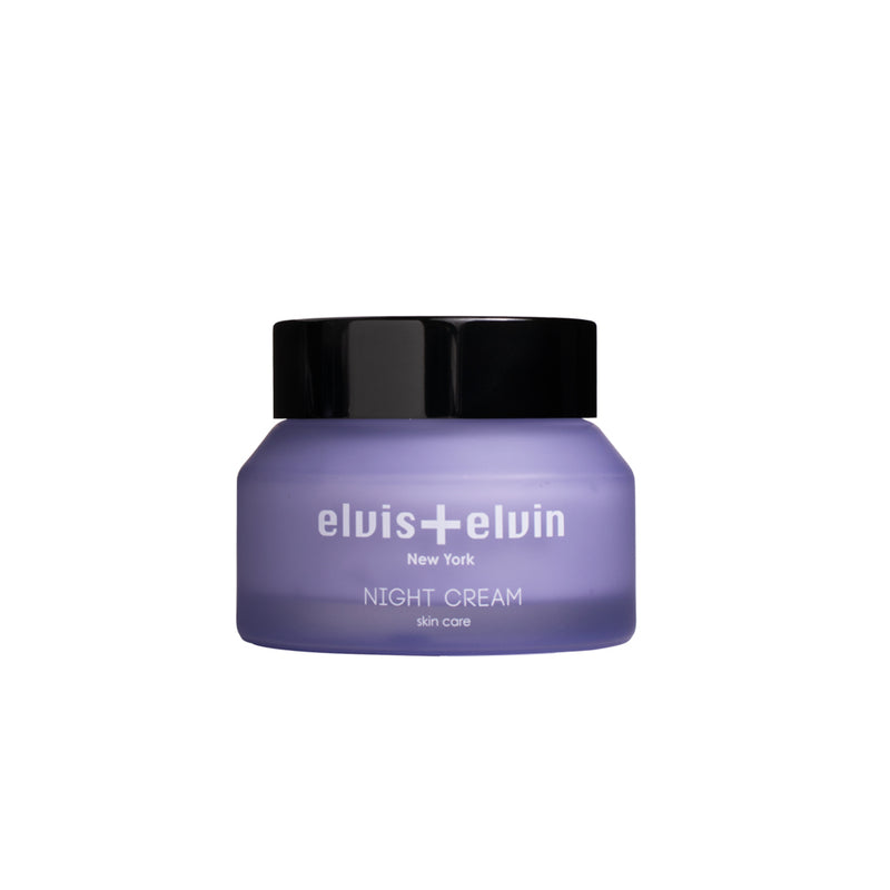 Lilac night cream