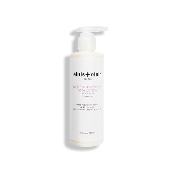 Body Lotion - White Thyme & Citron - beauty | elvis+elvin