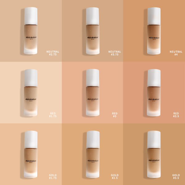 Floral Brightening Anti-Pollution Foundation 30ml - beauty | elvis+elvin