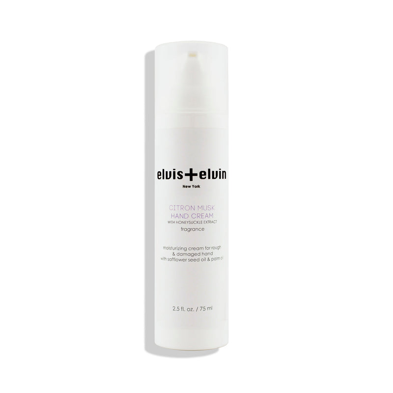 Hand Cream - Citron Musk - 75mL - beauty | elvis+elvin