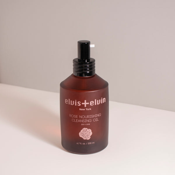 Rose Nourishing Cleansing Oil - beauty | elvis+elvin
