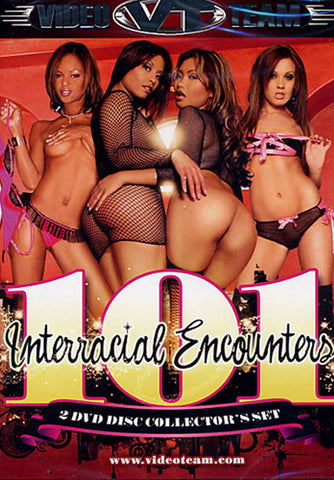 101 Interracial Encounters (2 Disc Set) Adult DVD