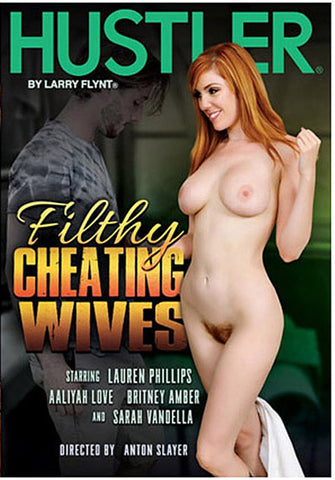Filthy Cheating Wives XXX DVD