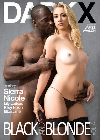 Black and Blonde 4 Adult Movies DVD