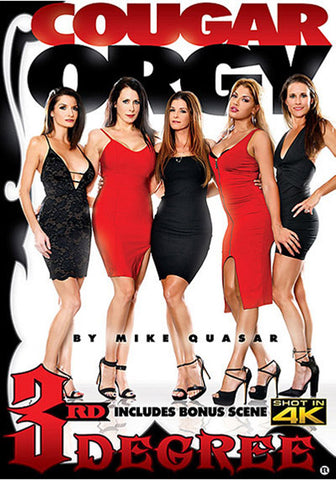 Cougar Orgy Adult DVD