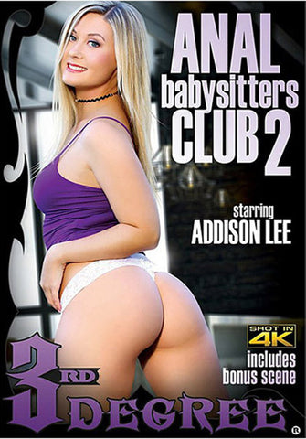 Anal Babysitters Club 2 Adult DVD