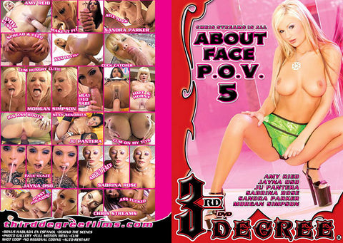 Cheap About Face P.O.V. 5 porn DVD