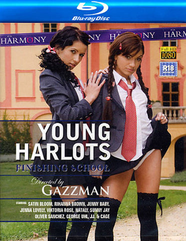 Young Harlots: Finishing School (Blu-Ray) Adult Sex DVD