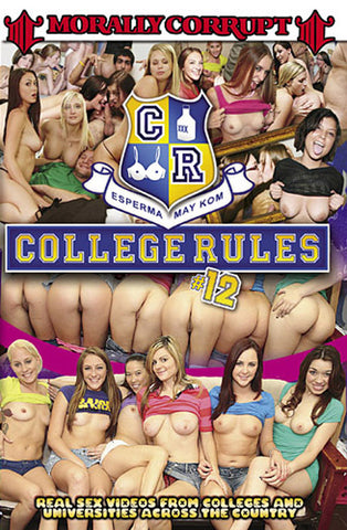 Cheap College Rules 12 porn DVD