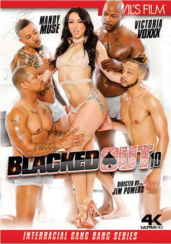 Blacked Out 10 Porn DVD