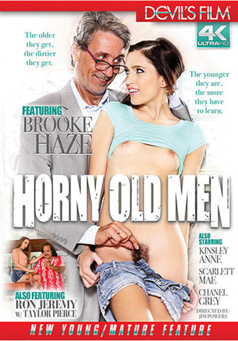 Horny Old Men Porn DVD