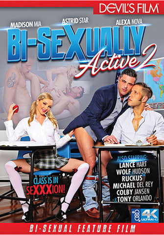 Bi-Sexually Active 2 Porn DVD