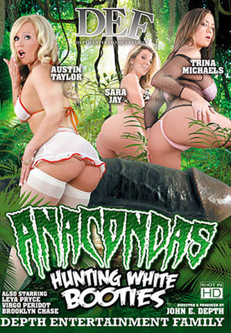 Anacondas Hunting White Booties Adult Sex DVD