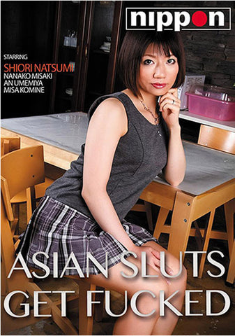 Asian Sluts Get Fucked XXX Adult DVD