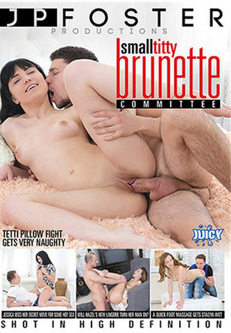 Small Titty Brunette Committee Adult DVD
