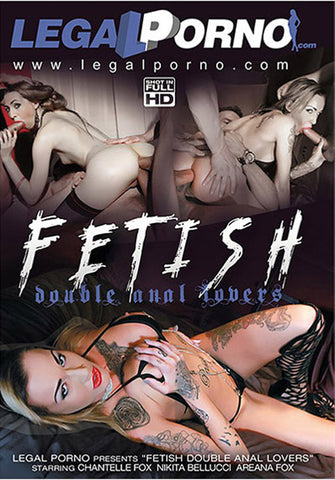 Fetish Double Anal Lovers XXX Adult DVD
