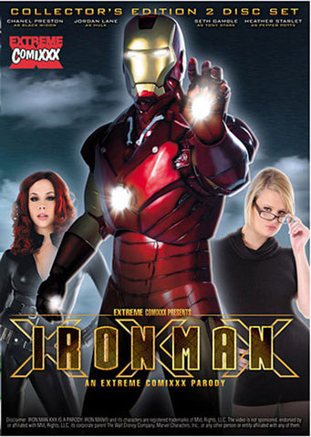 Iron Man XXX: An Extreme Comixxx Parody (2Disc) Adult DVD