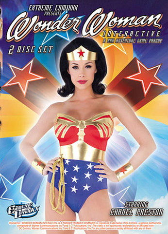 Wonder Woman Interactive (2 Disc Set) Adult DVD
