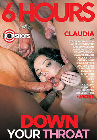 Down Your Throat Adult DVD