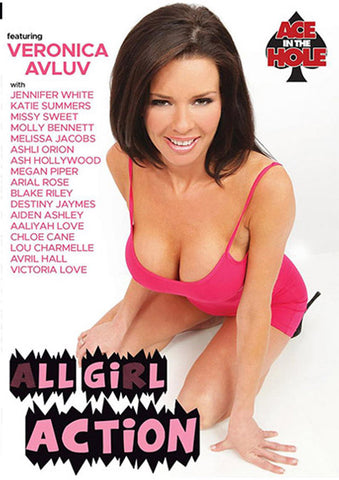 All Girl Action XXX Adult DVD