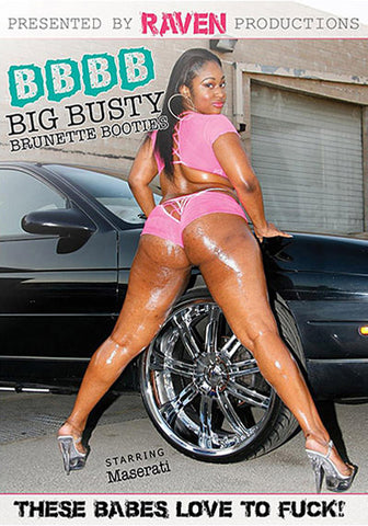 Big Busty Brunette Booties Adult DVD
