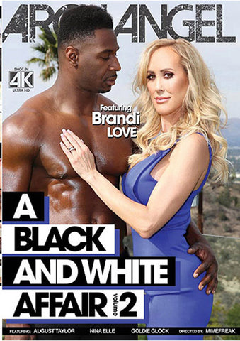 A Black And White Affair 2 Adult Movies DVD