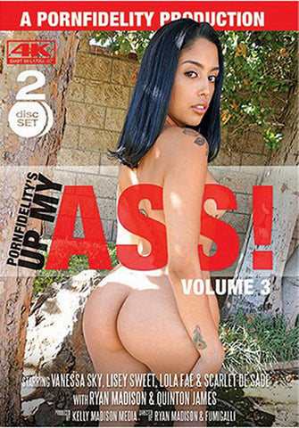 Up My Ass 3 (2 Disc Set) Porn DVD