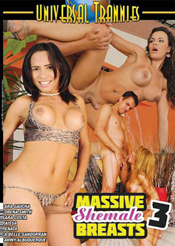 Massive Shemale Breasts 3 Adult DVD