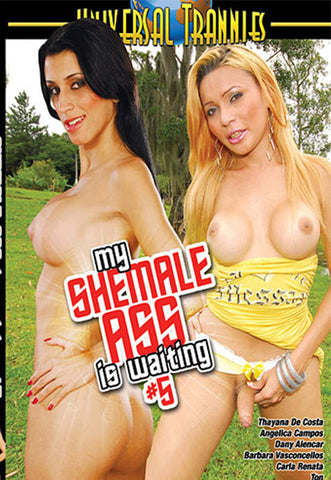 My Shemale Ass Is Waiting 5 Adult DVD
