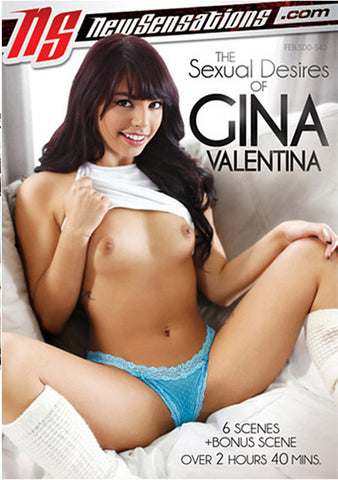 The Sexual Desires Of Gina Valentina (2 Disc) XXX Adult DVD