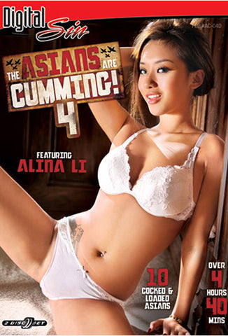 The Asians Are Cumming 4 (2 Disc Set) Adult DVD