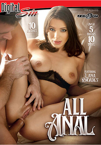 All Anal (2 Disc Set) Adult DVD