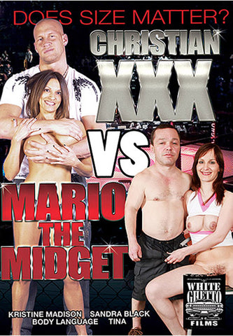 Christian XXX Vs Mario The Midget Adult DVD