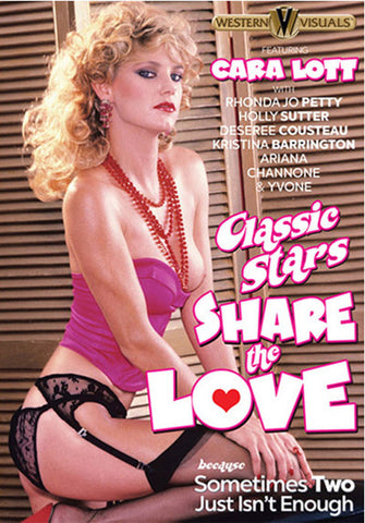 Classic Stars Share The Love Adult Sex DVD