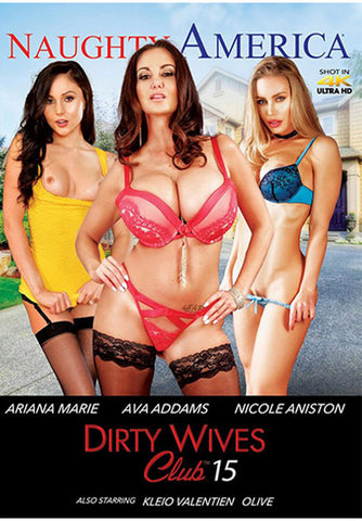 Dirty Wives Club 15 XXX Adult DVD