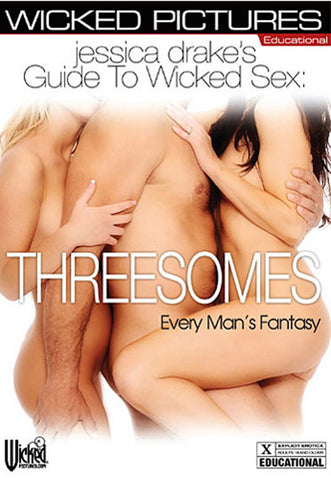 Cheap Jessica Drake's Guide To Wicked Sex: Threesomes porn DVD