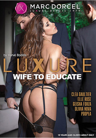 Luxure: Wife To Educate Adult DVD