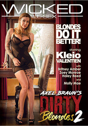 Axel Braun's Dirty Blondes 2 Porn DVD