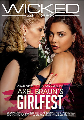 Axel Braun's Girlfest XXX Adult DVD