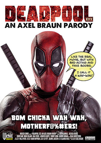 Deadpool XXX: An Axel Braun Parody (2 Disc Set) Adult Sex DVD